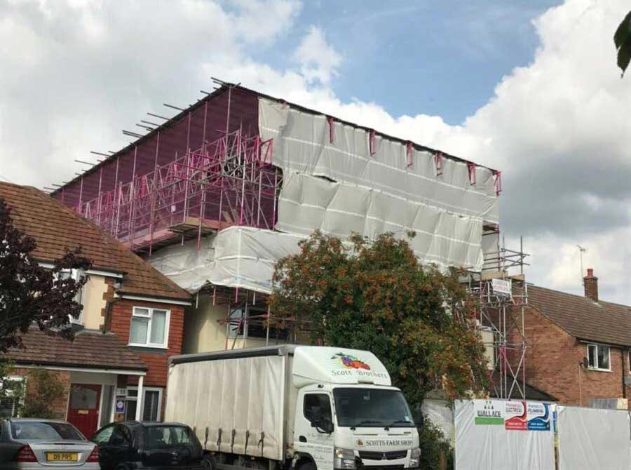 Temporary Roofs and Scaffolding